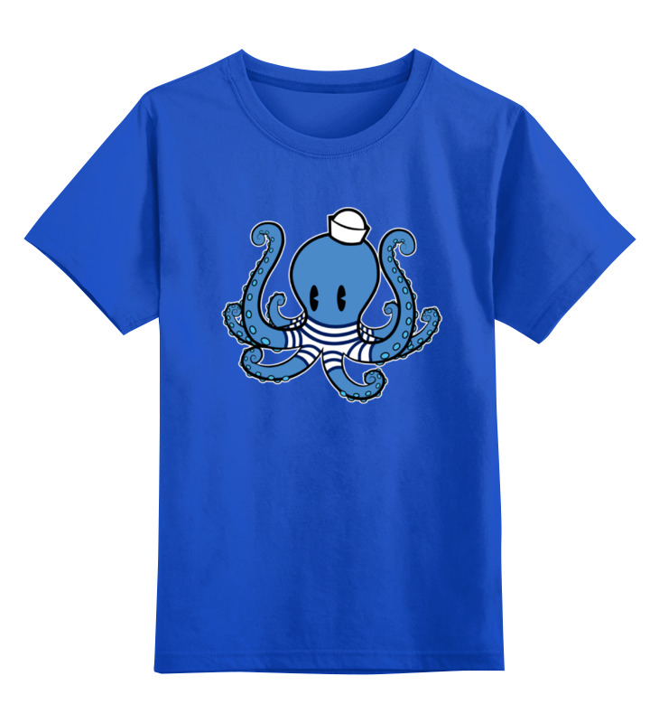 Детская футболка классическая унисекс Printio Осьминог морячок футболка классическая printio осьминог