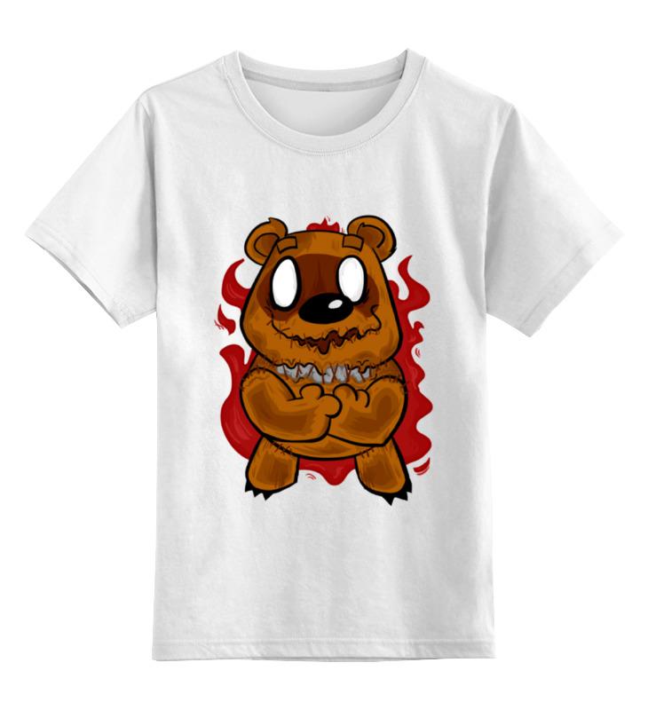 Детская футболка классическая унисекс Printio Демонический винни детская футболка классическая унисекс printio винни пух