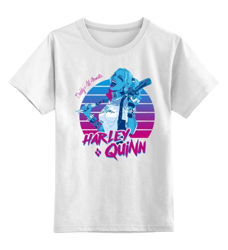 Детская футболка классическая унисекс Printio Харли квинн футболка харли квинн