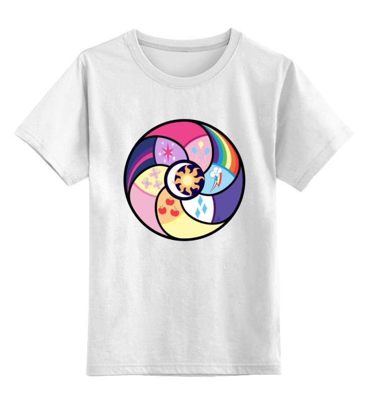 Детская футболка классическая унисекс Printio Elements of harmony футболка для беременных printio elements of harmony