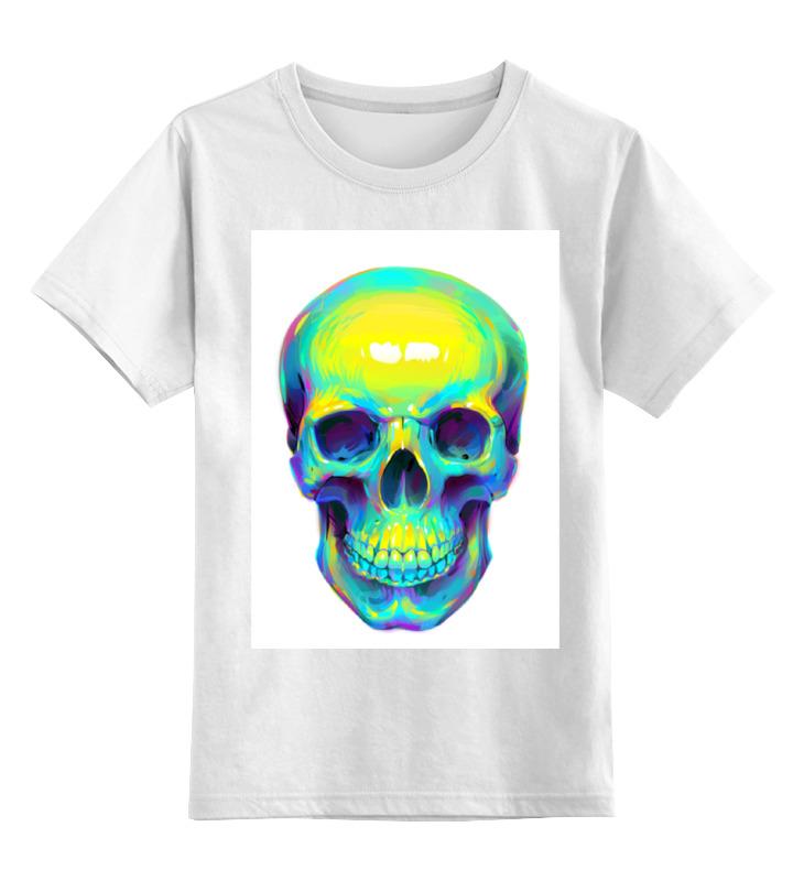 Детская футболка классическая унисекс Printio Colorfull skull детская футболка классическая унисекс printio skull 3