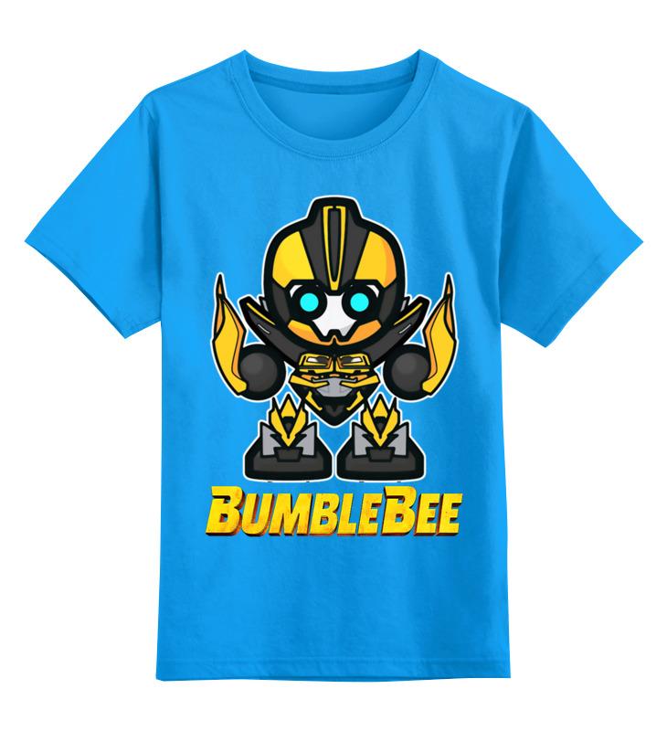 Детская футболка классическая унисекс Printio Бамблби детская футболка классическая унисекс printio hank moody хэнк муди californication