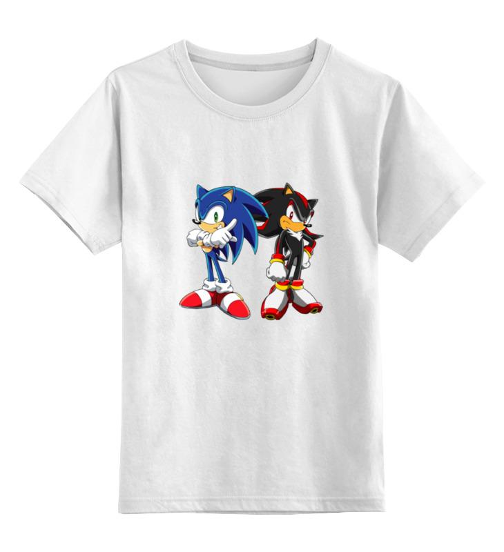 Детская футболка классическая унисекс Printio Sonic shadow детская футболка классическая унисекс printio sonic dance