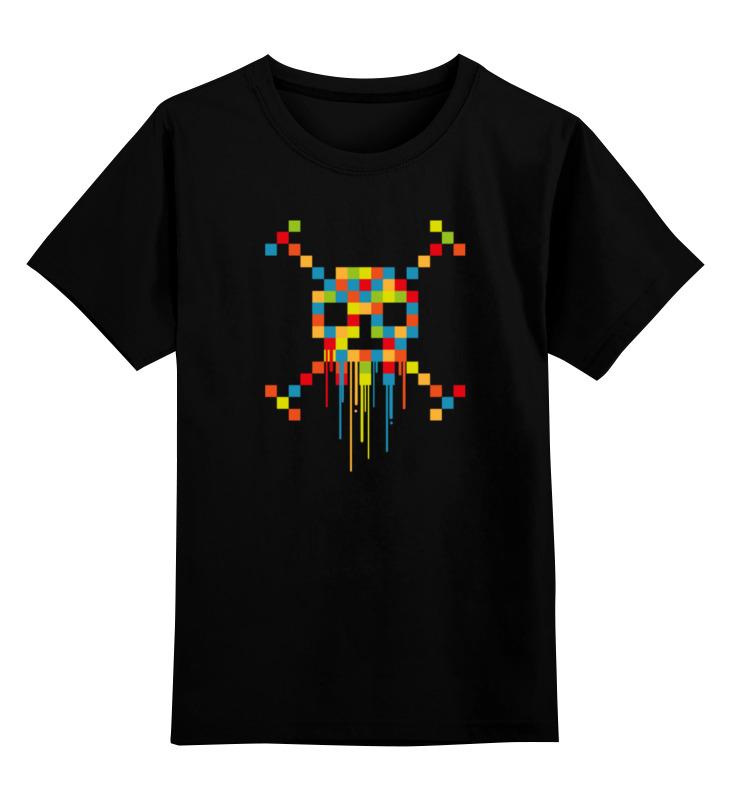 Printio Пиксельный череп детская футболка классическая унисекс printio пиксельный узор