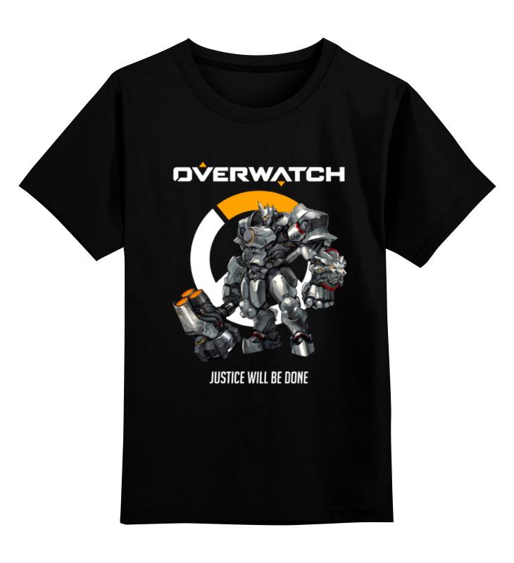 Printio Overwatch. райнхардт детская футболка классическая унисекс printio overwatch