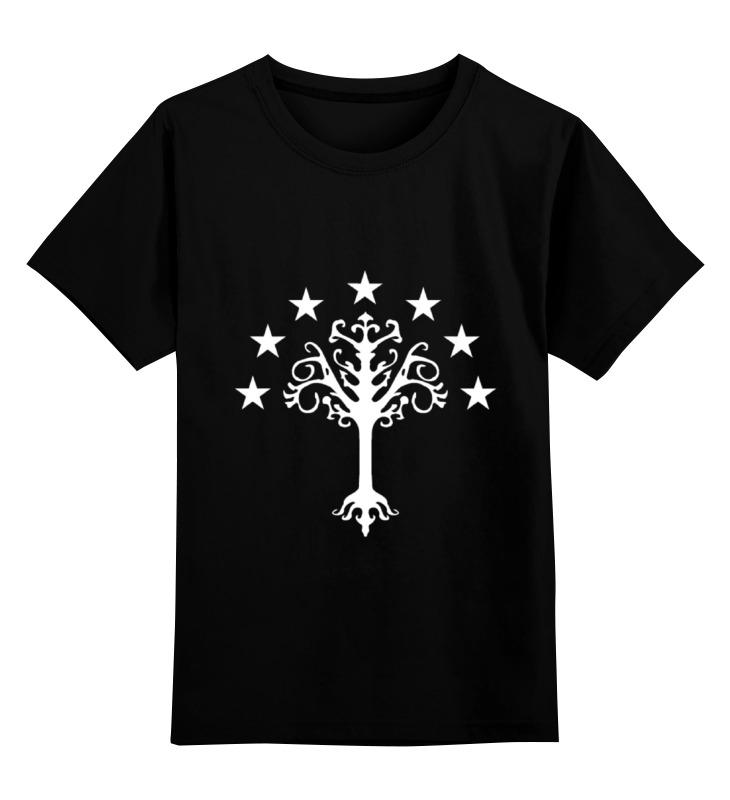 Детская футболка классическая унисекс Printio White tree cartoon tree duvet cover set