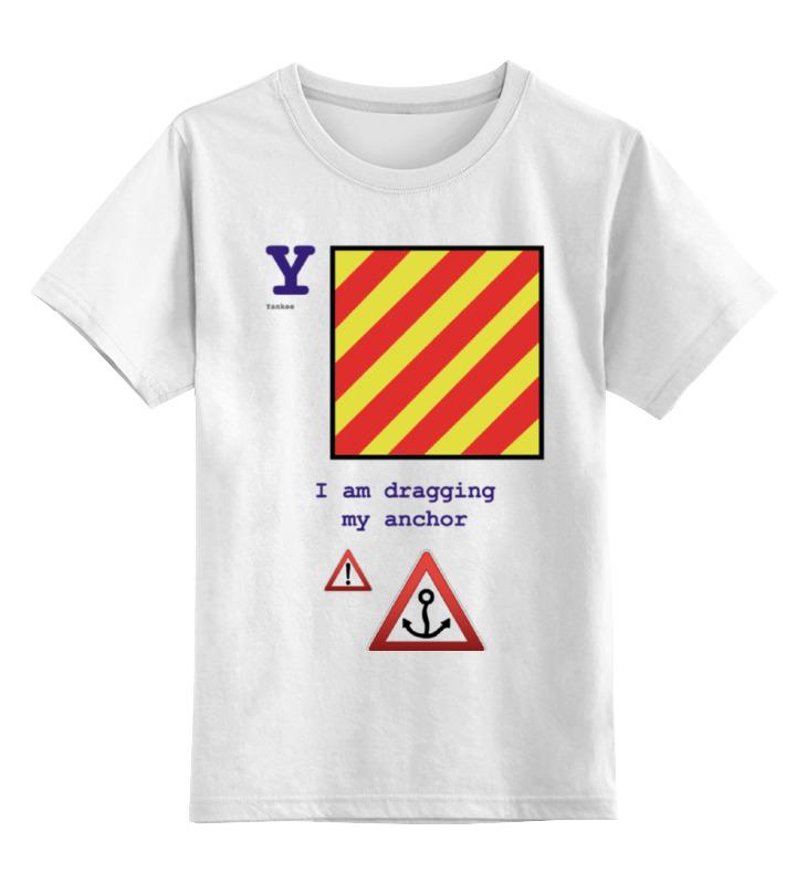 Детская футболка классическая унисекс Printio Yankee (y), флаг мсс (eng) детская футболка классическая унисекс printio india i флаг мсс eng
