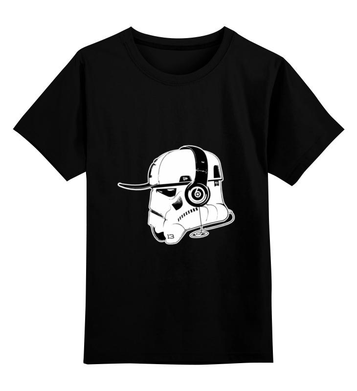 Детская футболка классическая унисекс Printio Music trooper детская футболка классическая унисекс printio skull trooper
