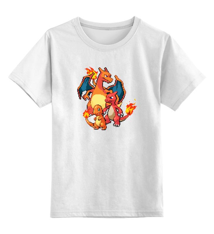 Детская футболка классическая унисекс Printio Покемоны 8-бит (драконы) теплый пол теплолюкс profimat160 8 0
