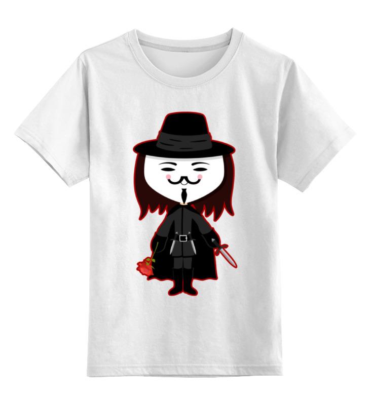 Детская футболка классическая унисекс Printio Вендетта (маска гая фокса) airhole маска airhole matterhorn