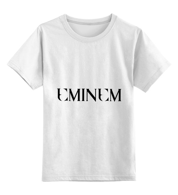 Детская футболка классическая унисекс Printio Eminem eminem eminem the eminem show