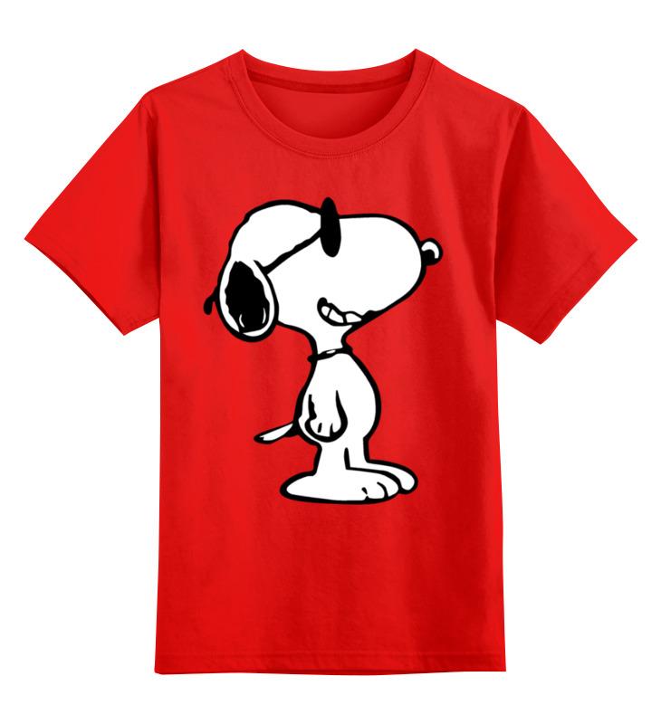 Детская футболка классическая унисекс Printio Снупи