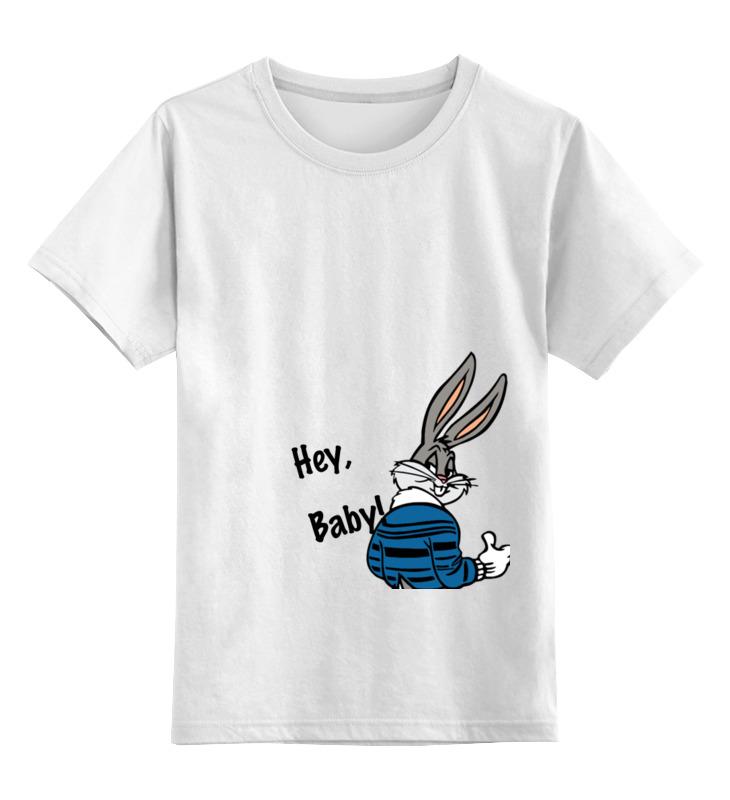 Детская футболка классическая унисекс Printio Bugs bunny_man детская футболка классическая унисекс printio bugs bunny man