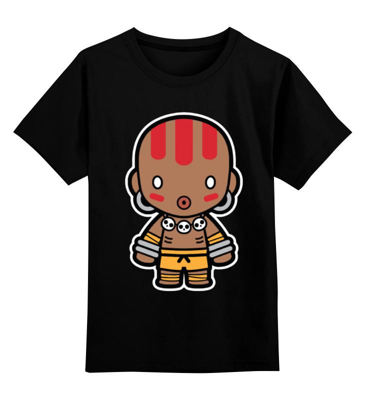 Детская футболка классическая унисекс Printio Dhalsim (street fighter) цена и фото