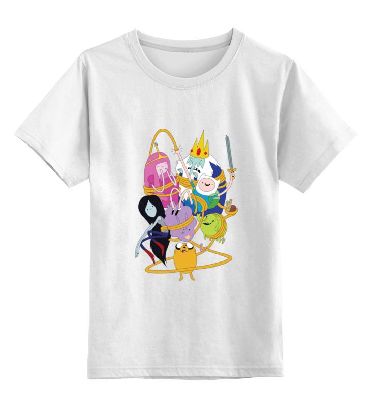 Детская футболка классическая унисекс Printio Adventure time детская футболка классическая унисекс printio время приключений adventure time