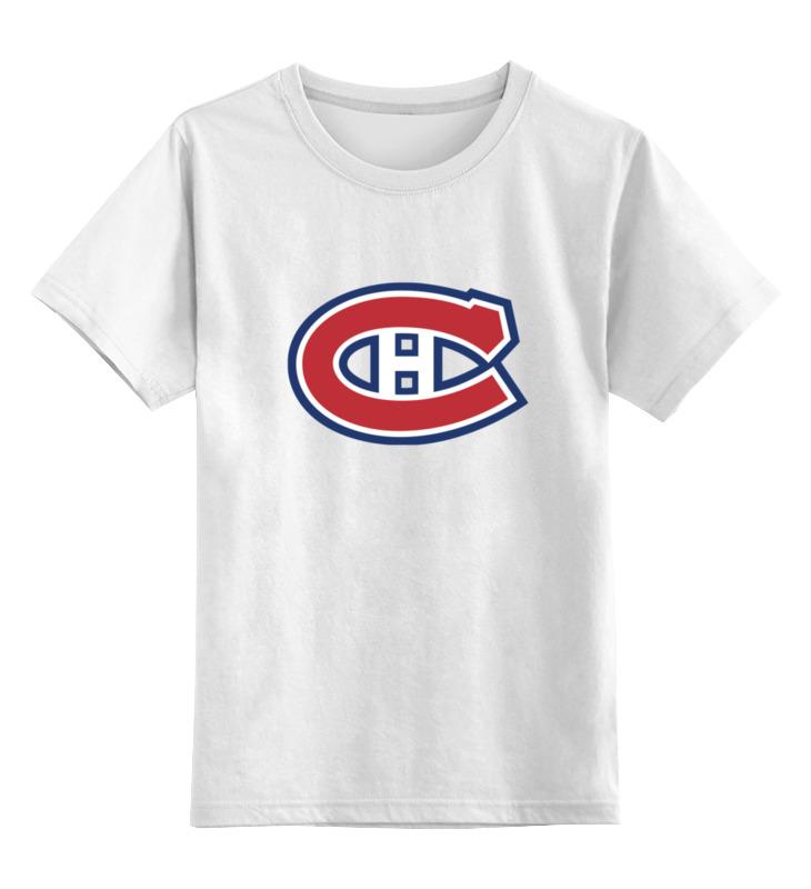 Детская футболка классическая унисекс Printio Montreal canadiens / nhl canada одежда для занятий хоккеем reebok 10 montreal canadiens 10 lafleur 2014 hoodie nhl