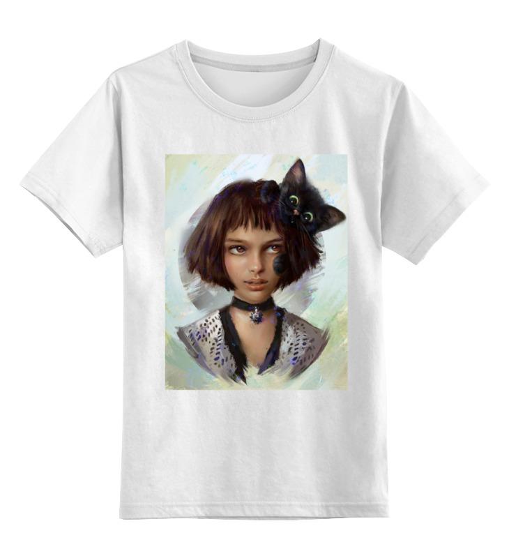 Детская футболка классическая унисекс Printio Натали портман / natalie portman