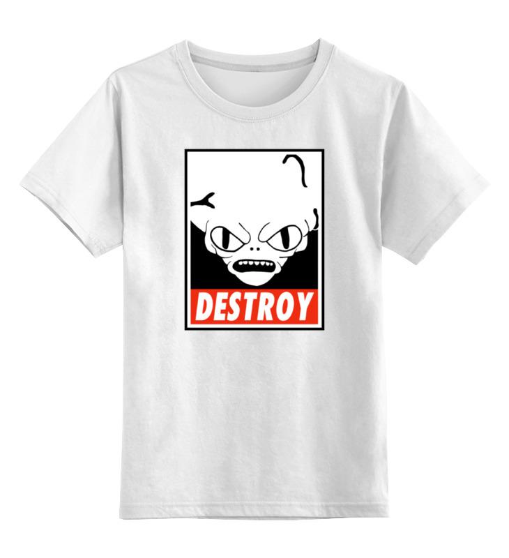 Детская футболка классическая унисекс Printio Морбо (футурама) детская футболка классическая унисекс printio морбо футурама