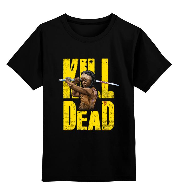 Детская футболка классическая унисекс Printio Kill dead детская футболка классическая унисекс printio don t open dead inside