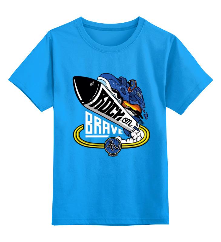 Детская футболка классическая унисекс Printio Кроссы на ракете