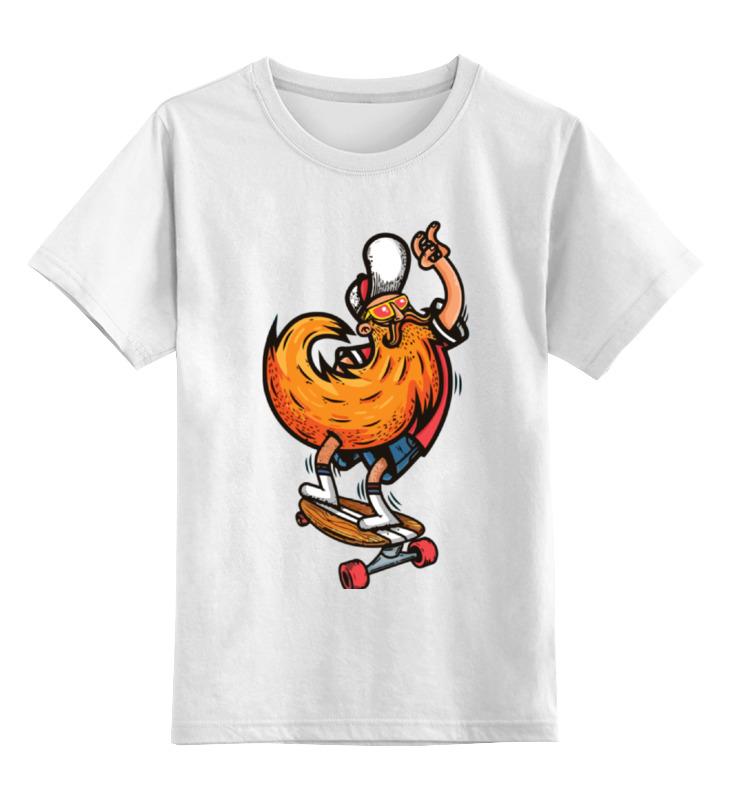 Printio Хипстер на доске детская футболка классическая унисекс printio пес на доске