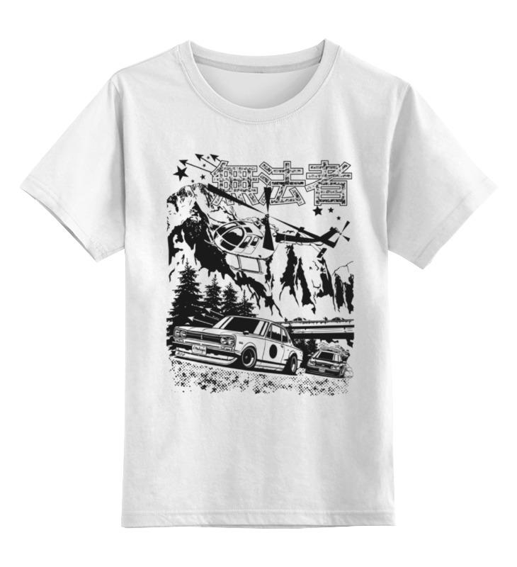 Детская футболка классическая унисекс Printio Nissan skyline gt-r hakosuka nikko машина nissan skyline gtr r34 street warriors 1 10 901584 в перми