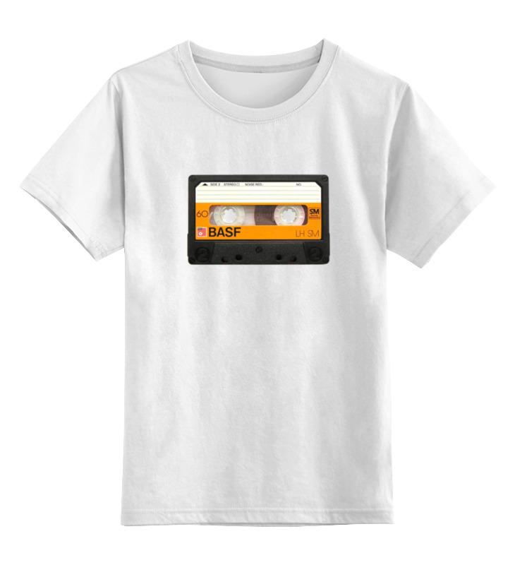 Детская футболка классическая унисекс Printio Кассета basf basf diy