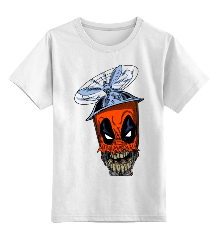 Детская футболка классическая унисекс Printio Дэдпул ( deadpool ) детская футболка классическая унисекс printio дэдпул