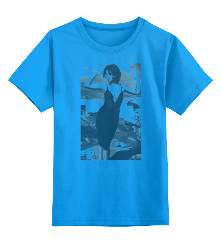 Детская футболка классическая унисекс Printio Monica bellucci monica mccarty highland outlaw