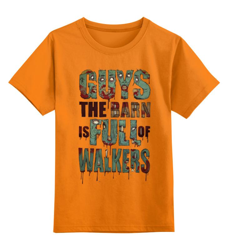 Детская футболка классическая унисекс Printio Ходячие мертвецы; the walking dead все цены
