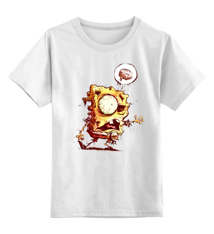 Детская футболка классическая унисекс Printio Спанч боб зомби детская футболка классическая унисекс printio спанч боб