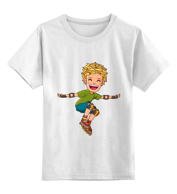 Детская футболка классическая унисекс Printio Ролики ролики maxcity ролики spark