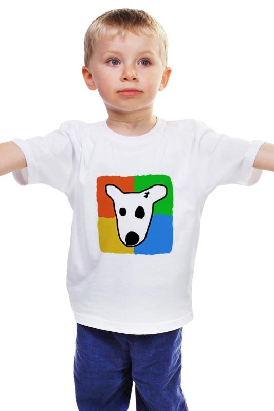 Детская футболка классическая унисекс Printio Собачка вконтакте