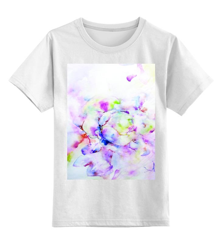 Детская футболка классическая унисекс Printio Распускающаяся роза пламенная роза тюдоров