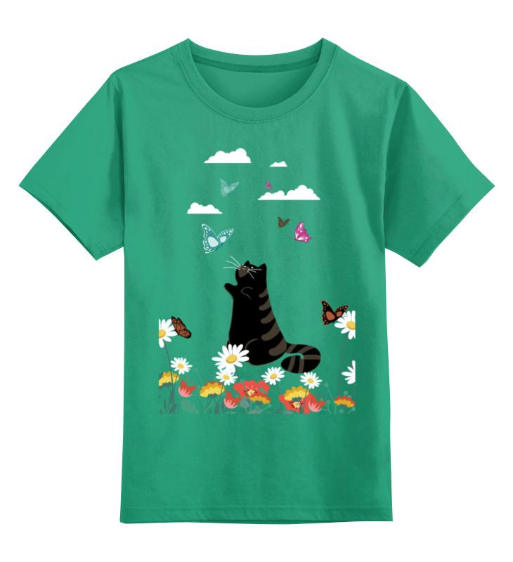 Детская футболка классическая унисекс Printio Лето lodge крышка квадратная 26 см стекло glsq10 lodge
