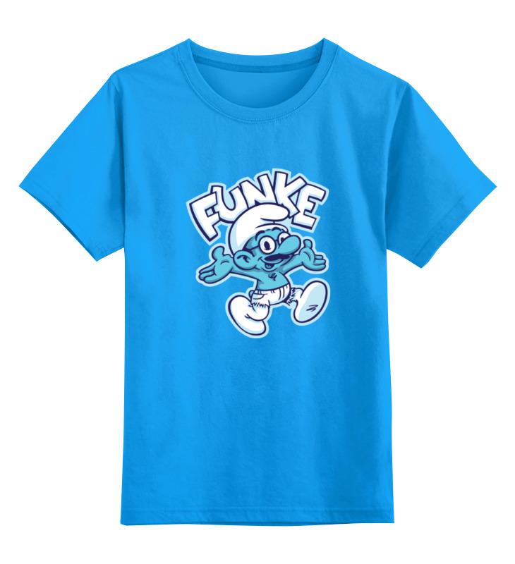 Детская футболка классическая унисекс Printio Смурф (smurf) гномик папа смурф schleich