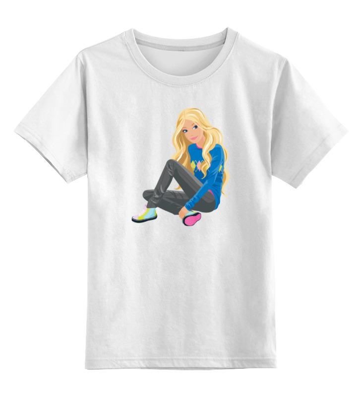 Детская футболка классическая унисекс Printio Городская девушка детская футболка классическая унисекс printio девушка