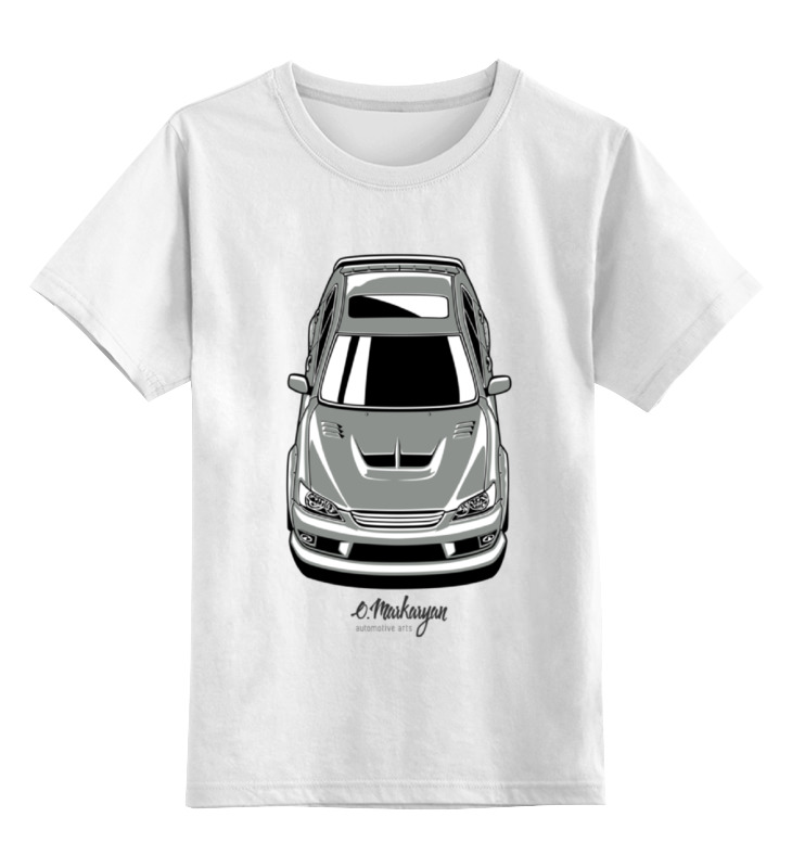 Детская футболка классическая унисекс Printio Altezza / is200