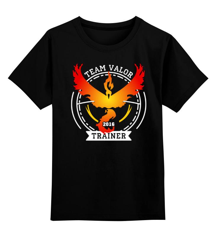 Детская футболка классическая унисекс Printio Покемоны. team valor