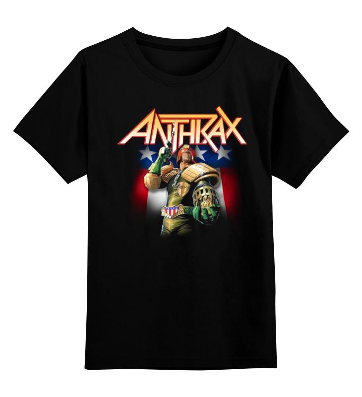 Детская футболка классическая унисекс Printio Anthrax band anthrax anthrax worship music 2 lp
