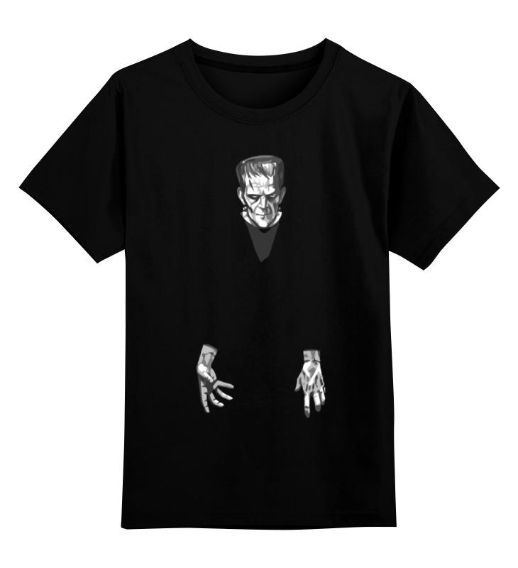 Детская футболка классическая унисекс Printio Франкенштейн (frankenstein) 绿野仙踪系列:滴答人