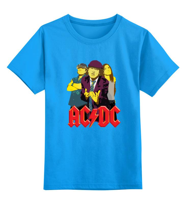 Детская футболка классическая унисекс Printio Мужская ac dc подушка printio ac dc