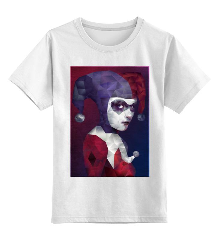 Детская футболка классическая унисекс Printio Харли квинн детская футболка классическая унисекс printio мотобайк