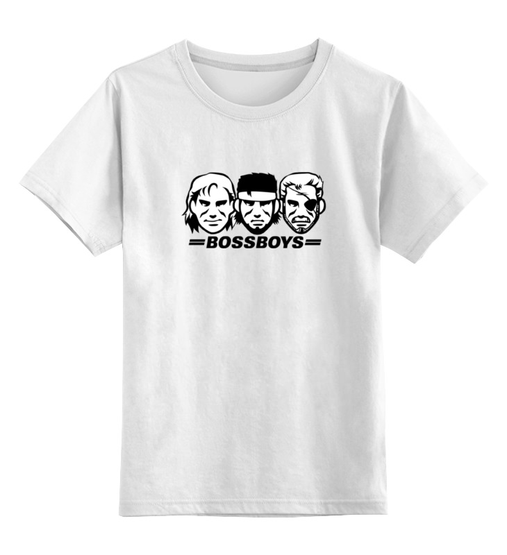 Детская футболка классическая унисекс Printio Биг боссы детская футболка классическая унисекс printio неизвестный солдат