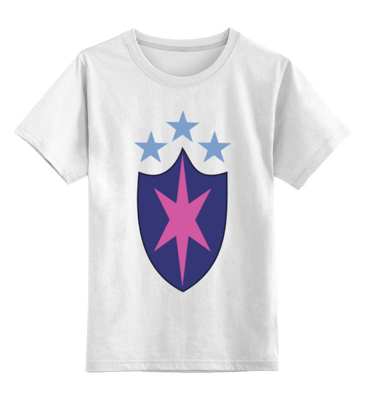 Детская футболка классическая унисекс Printio Щит (моя маленькая пони) недорго, оригинальная цена