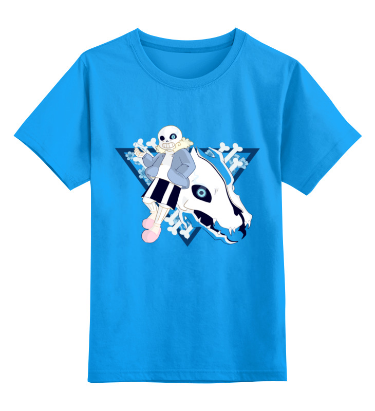 Детская футболка классическая унисекс Printio Санс. детская футболка классическая унисекс printio бразилия