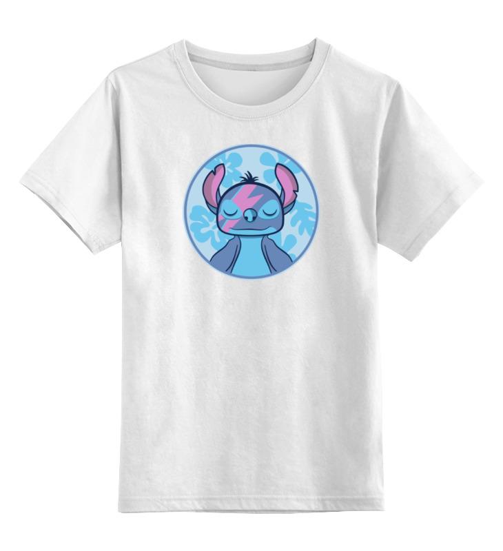 Детская футболка классическая унисекс Printio Стич (лило и стич) детские пижамы футужама детская пижама кигуруми стич 4 6 лет