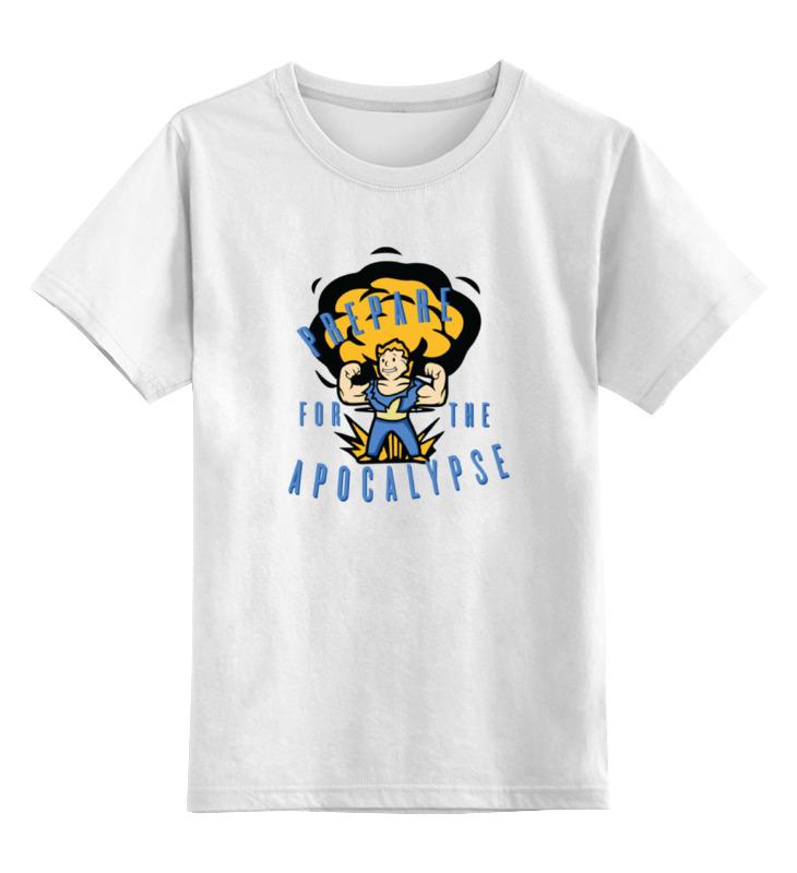 Детская футболка классическая унисекс Printio Vault boy (fallout) футболка классическая printio fallout фэллаут