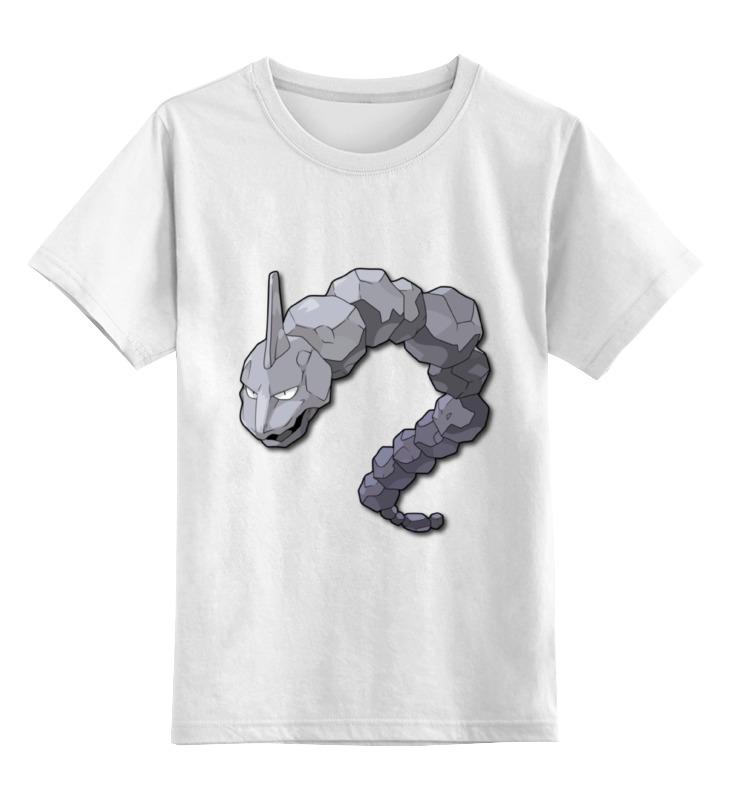 Детская футболка классическая унисекс Printio Оникс футболка рингер printio оникс