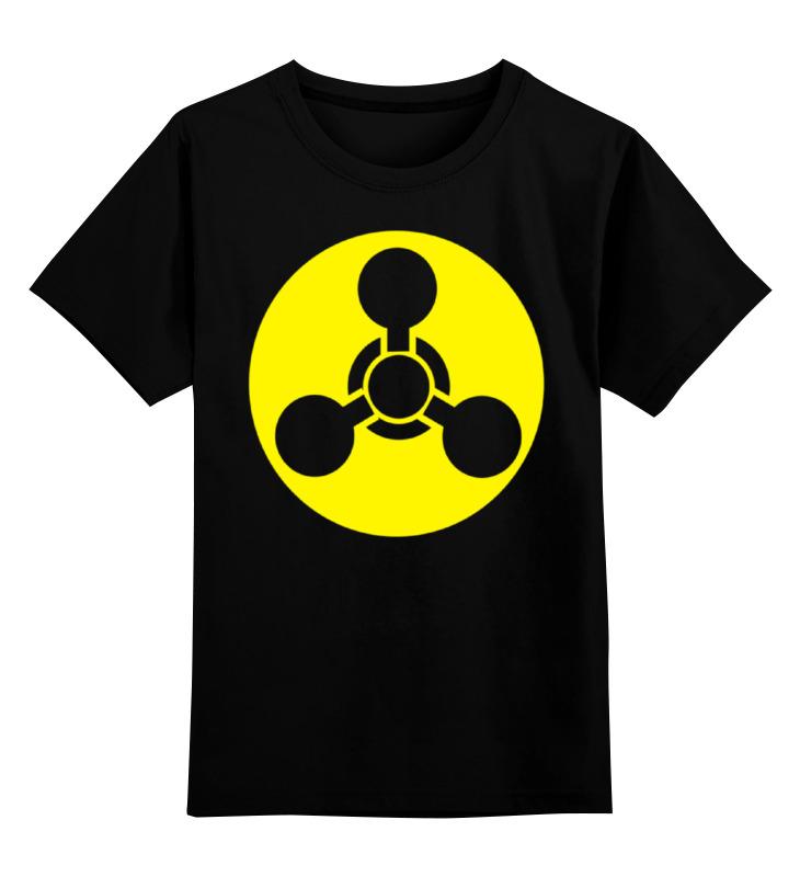 Детская футболка классическая унисекс Printio Знак рхбз